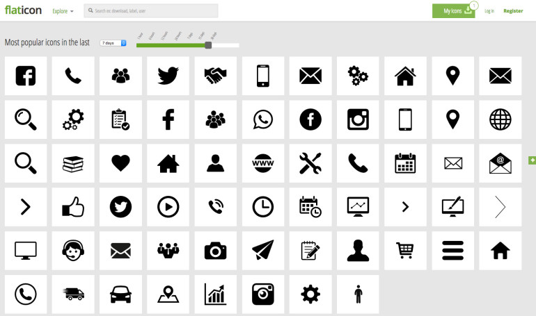 Icon Packs and GruntIcon. Great solutions for SVG icons with support for older browsers.