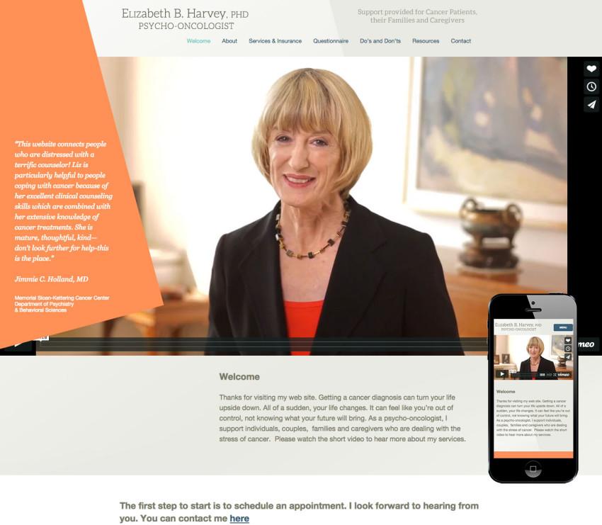 Liz Harvey Website